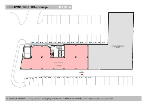 Poslovni prostor 403,00 m2